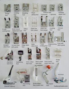 32PCS Sewing Machine Presser Feet Set – QuiltersDeals.com