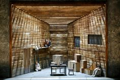 The Magic Flute from Viaamse Opera Antwerp. Production by David Hermann. Sets by Christof Hetzer.