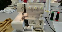 Hi All,     Today I took Beverly's class on Coverstitch machines! - I had never used a coverstitch machine before this, so everything was r...