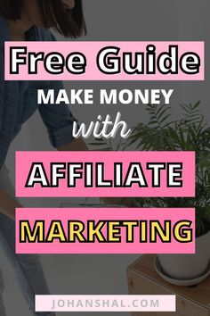 Learn how to make money with affiliate marketing for beginners with no experience. Use this step-by-step guide to learn how to become an affiliate marketer! #affiliatemarketing #affiliatemarketingonpinterest #onlinemarketing #workfromhome #sidehustle #onlinebusiness