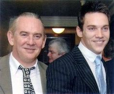Jonathan Rhys Meyers with his Father!