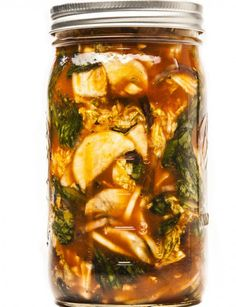 This homemade kimchi can be put together with whatever veggies you have on hand, like radishes and leeks.