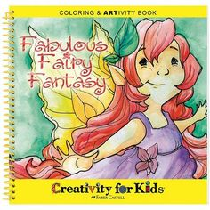 Fabulous Fairy Fantasy Coloring & ARTivity Book by Creativity for Kids, http://www.amazon.com/gp/product/B002PNLXX8?ie=UTF8=abacusonlines-20=shr=213733=393177=B002PNLXX8&=arts-crafts=1358638303=1-26=kids+art+supplies via @amazon