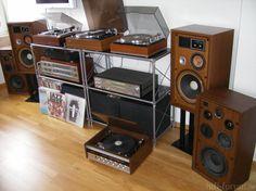 Vintage Hitachi Setup