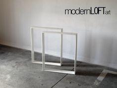 Esstische - TISCHBEINE TISCHGESTELL TISCHKUFEN TISCHFÜẞE STAHL - ein Designerstück von modernLOFTart bei DaWanda