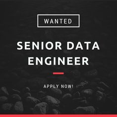 We are hiring a Senior #DataEngineer! Apply now if you've got what it takes! #BeTech http://buff.ly/1ND6cbP
