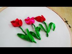 Wonderful Ribbon Embroidery Flowers by Hand Ideas. Enchanting Ribbon Embroidery Flowers by Hand Ideas. Ribbon Embroidery Tutorial, Silk Ribbon Embroidery, Crewel Embroidery, Hand Embroidery Designs, Floral Embroidery, Embroidery Ideas, Machine Embroidery, Embroidery For Beginners, Embroidery Techniques