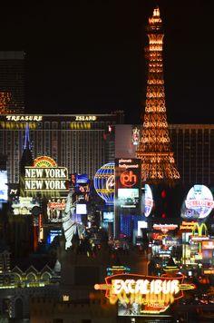 Las Vegas Strip At Night - 2