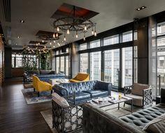 Gansevoort Park Avenue Rooftop Lounge - Flatiron District, NYC