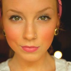 I want a nose piercing like hers!