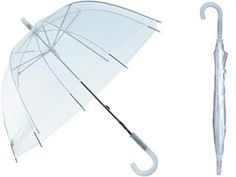 "This classic, Children's 34"" clear, dome shape umbrella has been a customer favorite for years! Sold by the case, $5.75 each. With it's ageless style, this umbrella is the perfect accessory to your children's, theater, dance, cheer, birthday party or for resale in your retail shop! Many colors and styles to choose from. Click here to see all of our kids umbrellas:  http://www.saraglove.com/category-s/83.htm"