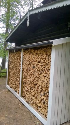 Puukatos valmis