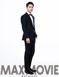 D.O. for Max Movie Magazine 2016 #D.O #Kyungsoo