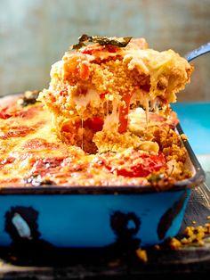 #Auflauf #Couscous #Caprese #Tomate #Mozzarella How To Cook Brisket, How To Cook Meatloaf, Veggie Dishes, Veggie Recipes, Vegetarian Recipes, Couscous Recipes, Mozarella, Tomate Mozzarella, Baked Scallops