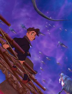 Treasure Planet...my second favorite Disney movie (after The Lion King, of course).