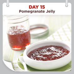 25 Days of Christmas Cheer :: Day 15 :: Pomegranate Jelly Recipe