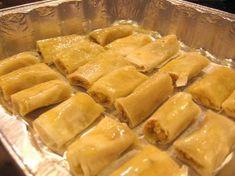 Easy to Make Lebanese Baklava Rolls Recipe | Mama's Lebanese Kitchen - Traditional Lebanese Recipes