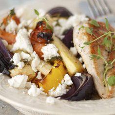 Kyckling med ugnsrostade rotfrukter och fetaost - Recept från Mitt kök - Mitt Kök   Recept   Mat   Vin   Öl