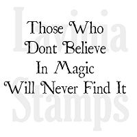 Lavinia Stamps - Clear Stamp - Believe In Magic