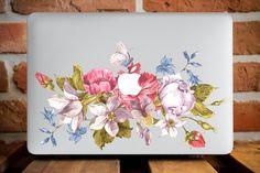 Flower Parade Macbook Hard Case MacBook by CreativeMacBookCases
