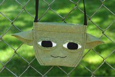 Disney Craft: A Star Wars Weekends-Inspired Yoda Bag