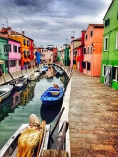 Venedig Burano Insel