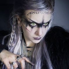 """manic-moth: """" Draw your swords  . . I received some gorgeous jewelry by @mayajewelry ❤ like these beautiful sword earrings called #oathkeeper and I thought they would be the perfect warrior adornment. #gothgirl #gothgoth #warrior #warriorwoman..."""