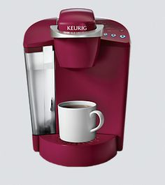 Keurig  FOUND: Anywhere that sells coffee makers/online.