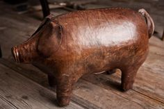 Vintage Abercrombie & Fitch Leather Pig