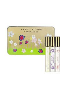 Portable rollerballs in Marc Jacobs' bestselling scents. #beauty #gift #stockingstuffer