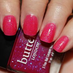 Vampy Varnish: butter London Disco Biscuit butter LONDON Spring/Summer 2012 Swatches