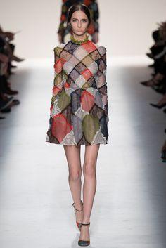 #Valentino #FW2014_15 #trends #lace #colorFul #Catwalk #PFW #Paris