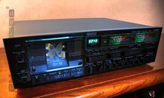 Superb vintage tapedeck ALPINE AL-85 / 3 head / 3 motor / Calibration features Dealer Ad - UK Audio Mart Yamaha Hi Fi, Audio Room, Tape Recorder, Speaker Design, Hifi Audio, Boombox, Audio Equipment, Audiophile, Header