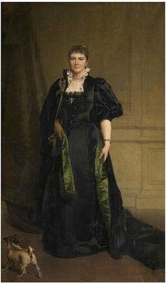 Karel Ooms - Portrait of Mrs. Karel Ooms-van Eersel