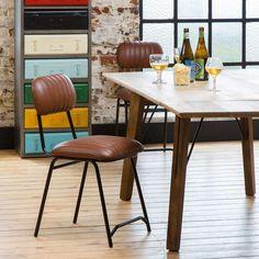 Chaise vintage : 21 modèles esprit rétro Table Vintage, Chaise Vintage, Style Retro, Vintage Design, Dining Chairs, Palette, Furniture, Home Decor, Lafayette