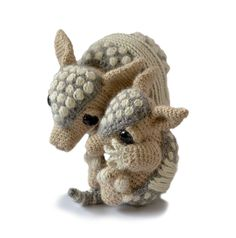 Ravelry: PatchworkMoose's Tilda and Earl the Armadillos