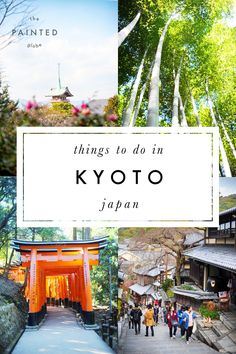 Kyoto: temples and beyond. Ideas for things to do and places to see in Kyoto, Japan! Including the Fushimi Inari Shrine, Arashiyama Bamboo forest and Monkey Park, Kinkakuji Temple/the Golden Pavilion and Higashiyama!