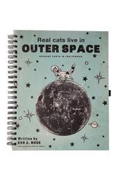 a4 collegiate notebook, OUTER SPACE