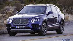 The new Bentley Bentayga