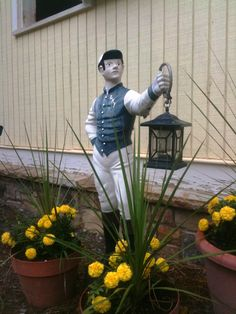 Lawn Jockey. Weird I know, but I REALLY want one..red shirt maybe?