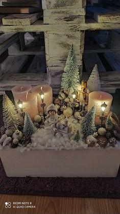 Christmas Room, Christmas Cards To Make, Christmas Nativity, Simple Christmas, Decor Crafts, Christmas Crafts, Christmas Decorations, Holiday Decor, Advent Wreath Candles