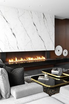 Interior designed by Madeleine Design Group in Vancouver, Canada. *Re-pin to your inspiration board* Open Layout, Futuristic Design, Design Blog, Luxury Living, Contemporary Design, Furniture Design, Sweet Home, Lounge, Living Room