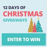 We're giving away 12 prizes between December 7-18, 2015. Enter for a chance to win!