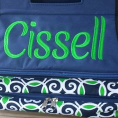 Great Christmas gifts!! Personalized Double decker casserole carriers. Insulated to keep your food hot or cold! Several designs available.