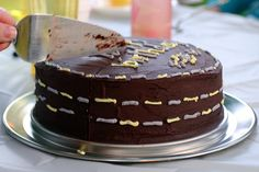 Double Chocolate layer cake - supposed to be AMAZING.