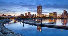 Milwaukee at night  25 best things to do in Milwaukee