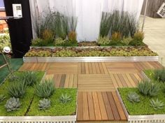 Vegetated Roof Systems - Great use of unused real estate.  Photo by @AIA_Advocacy #Greenbuild