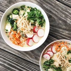 This Spicy Thai Green Curry Ramen recipe is featured in the Southeast Asian Cuisine feed along with many more. Curry Ramen, Homemade Ramen, Rasa Malaysia, Spicy Thai, Ramen Recipes, Green Curry, Shrimp, Soup, Ethnic Recipes