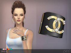 BEO CREATIONS: Chanel pearls bracelet | Sims 4 Updates -♦- Sims Finds & Sims Must Haves -♦- Free Sims Downloads