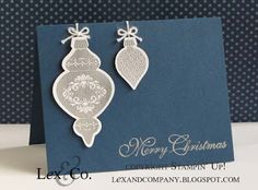 Ornament Keepsakes stamps from Stampin' Up! demo: Jana Burke